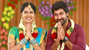 Saravanan meenakshi marriage album designs